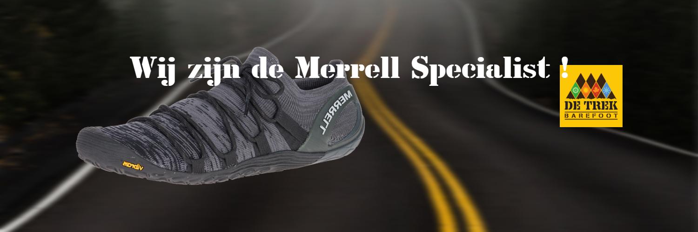 Een groot assortiment in Merrell barefoot schoenen !